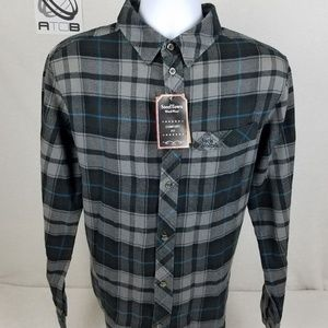 SteelTown WorkWear Mens size Medium Plaid